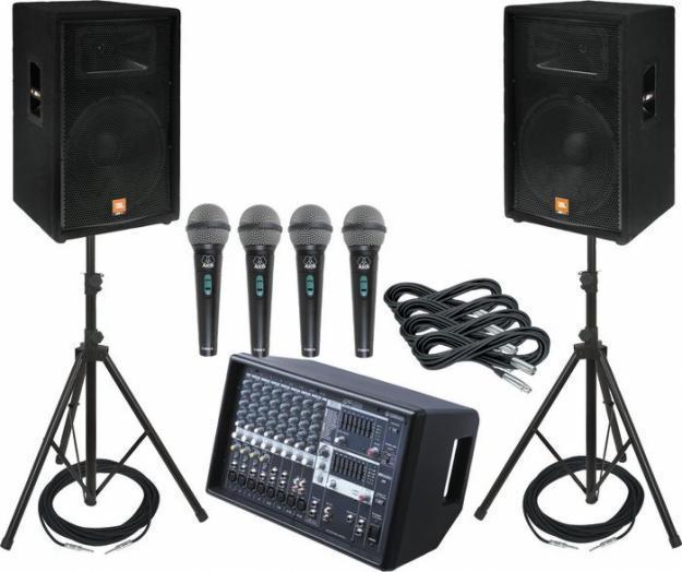 Sonido energy venta y renta de equipo audiovisual - Muebles para equipo de sonido ...